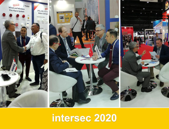 We attended FINDER & DEFENDER Intersec 2020 Fair.